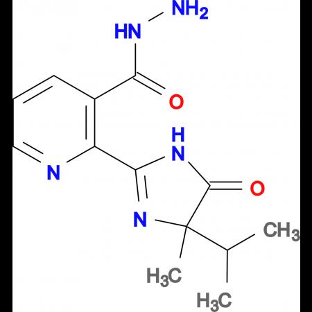 2-(4-isopropyl-4-methyl-5-oxo-4,5-dihydro-1H-imidazol-2-yl)nicotinohydrazide