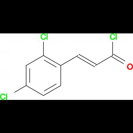 (2E)-3-(2,4-dichlorophenyl)acryloyl chloride
