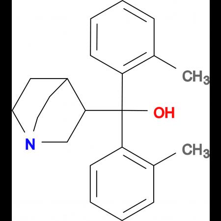 1-azabicyclo[2.2.2]oct-3-yl[bis(2-methylphenyl)]methanol hydrochloride