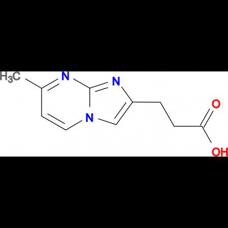 3-(7-methylimidazo[1,2-a]pyrimidin-2-yl)propanoic acid
