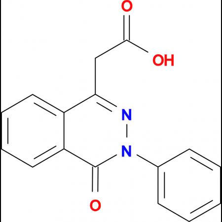 (4-oxo-3-phenyl-3,4-dihydrophthalazin-1-yl)acetic acid
