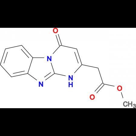 methyl (4-oxo-1,4-dihydropyrimido[1,2-a]benzimidazol-2-yl)acetate