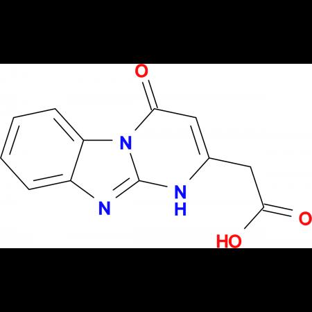 (4-oxo-1,4-dihydropyrimido[1,2-a]benzimidazol-2-yl)acetic acid