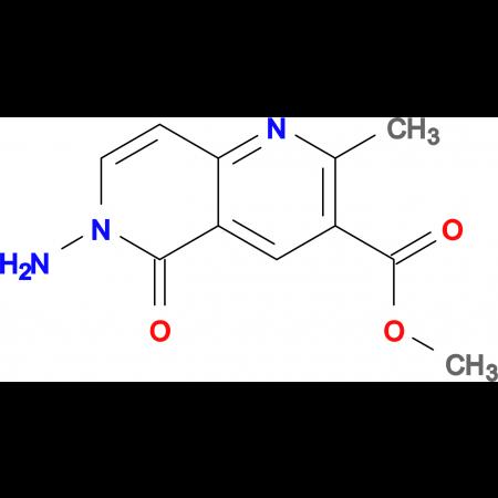methyl 6-amino-2-methyl-5-oxo-5,6-dihydro-1,6-naphthyridine-3-carboxylate