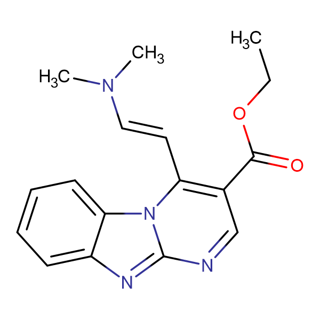 ethyl 4-[(E)-2-(dimethylamino)vinyl]pyrimido[1,2-a]benzimidazole-3-carboxylate