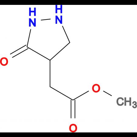 methyl (3-oxopyrazolidin-4-yl)acetate