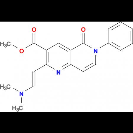 methyl 2-[(E)-2-(dimethylamino)vinyl]-5-oxo-6-phenyl-5,6-dihydro-1,6-naphthyridine-3-carboxylate