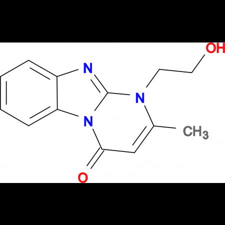 1-(2-hydroxyethyl)-2-methylpyrimido[1,2-a]benzimidazol-4(1H)-one