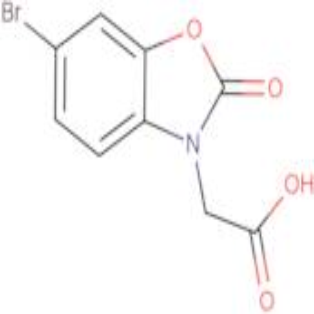 (6-bromo-2-oxo-1,3-benzoxazol-3(2H)-yl)acetic acid