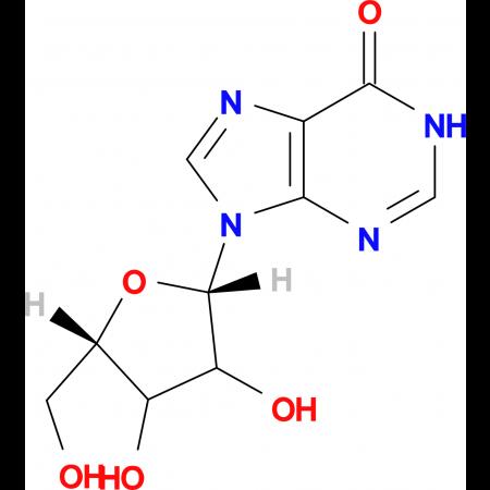 9-[(2S,5S)-3,4-dihydroxy-5-(hydroxymethyl)tetrahydrofuran-2-yl]-1,9-dihydro-6H-purin-6-one