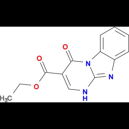 ethyl 4-oxo-1,4-dihydropyrimido[1,2-a]benzimidazole-3-carboxylate