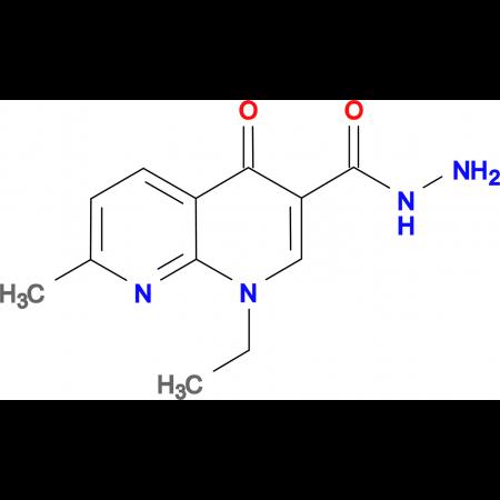 1-ethyl-7-methyl-4-oxo-1,4-dihydro-1,8-naphthyridine-3-carbohydrazide
