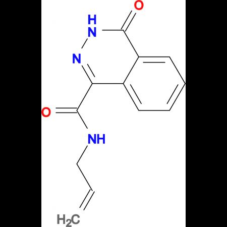 N-allyl-4-oxo-3,4-dihydrophthalazine-1-carboxamide