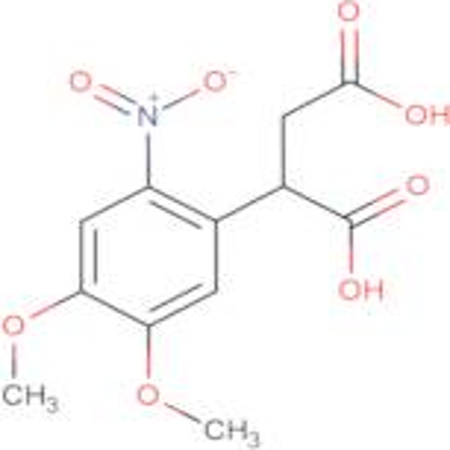 2-(4,5-dimethoxy-2-nitrophenyl)succinic acid