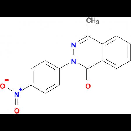 4-methyl-2-(4-nitrophenyl)phthalazin-1(2H)-one