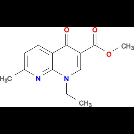methyl 1-ethyl-7-methyl-4-oxo-1,4-dihydro-1,8-naphthyridine-3-carboxylate