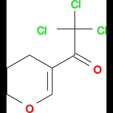 2,2,2-trichloro-1-(3,4-dihydro-2H-pyran-5-yl)ethanone