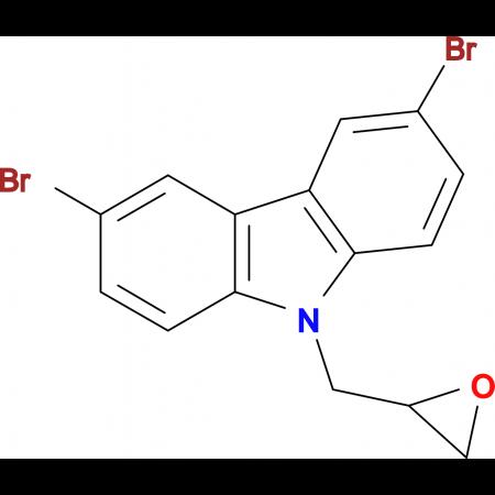 3,6-dibromo-9-(oxiran-2-ylmethyl)-9H-carbazole