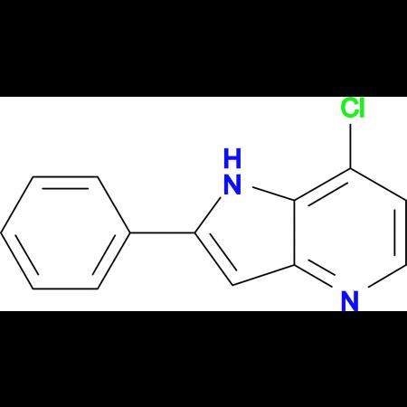 7-Chloro-2-phenyl-1H-pyrrolo[3,2-b]pyridine