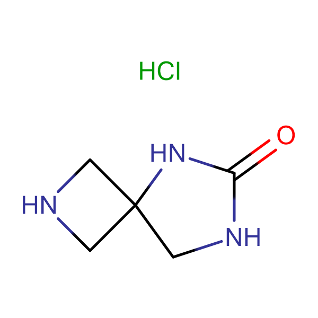 2,5,7-triazaspiro[3.4]octan-6-one hydrochloride