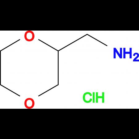 (1,4-dioxan-2-ylmethyl)amine hydrochloride