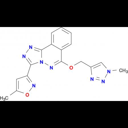 3-(5-METHYLISOXAZOL-3-YL)-6-[(1-METHYL-1H-1,2,3-TRIAZOL-4-YL)METHOXY][1,2,4]TRIAZOLO[3,4-A]PHTHALAZINE