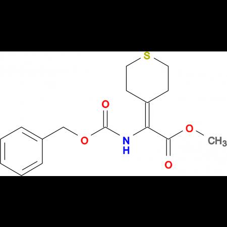 METHYL 2-(CBZ-AMINO)-2-(TETRAHYDROTHIOPYRAN-4-YLIDENE)ACETATE