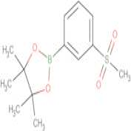 3-(METHYLSULFONYL)PHENYLBORONIC ACID PINACOL ESTER