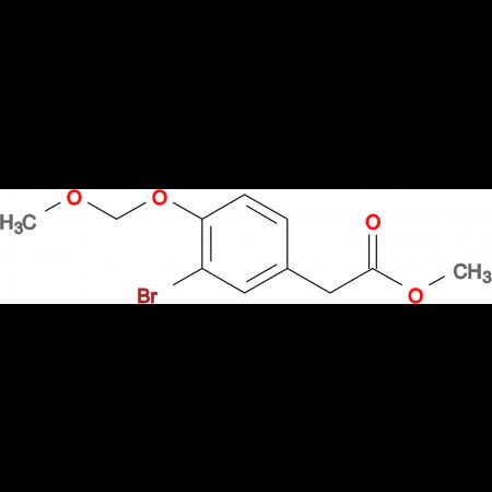 METHYL 2-(3-BROMO-4-(METHOXYMETHOXY)PHENYL)ACETATE