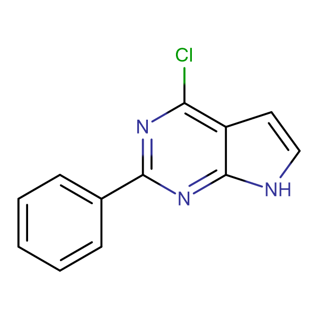 4-CHLORO-2-PHENYL-7H-PYRROLO[2,3-D]PYRIMIDINE