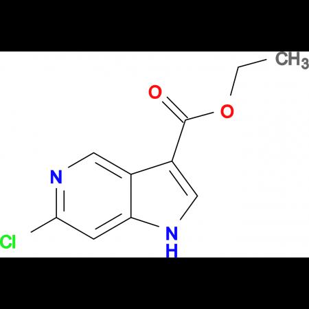 ETHYL 6-CHLORO-1H-PYRROLO[3,2-C]PYRIDINE-3-CARBOXYLATE