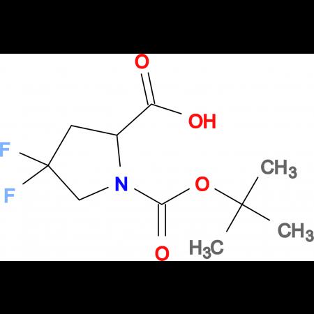 1-(TERT-BUTOXYCARBONYL)-4,4-DIFLUOROPYRROLIDINE-2-CARBOXYLIC ACID