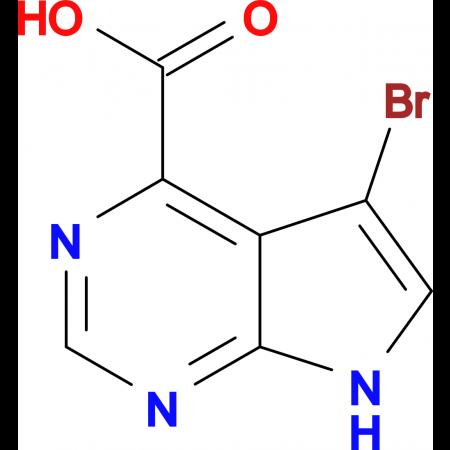 5-BROMO-7H-PYRROLO[2,3-D]PYRIMIDINE-4-CARBOXYLIC ACID