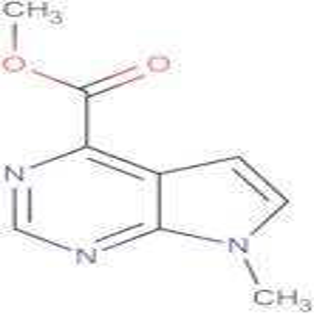 METHYL 7-METHYL-7H-PYRROLO[2,3-D]PYRIMIDINE-4-CARBOXYLATE