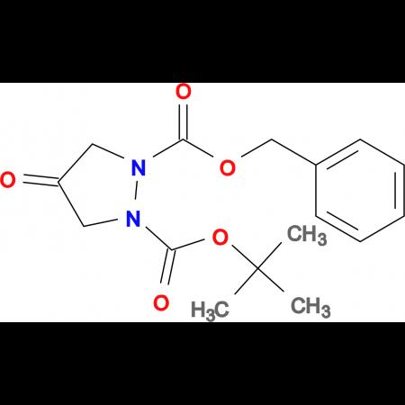1-BENZYL 2-TERT-BUTYL 4-OXOPYRAZOLIDINE-1,2-DICARBOXYLATE