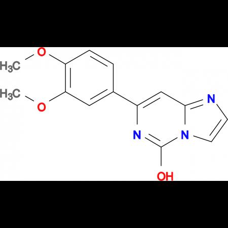 7-(3,4-DIMETHOXYPHENYL)IMIDAZO[1,2-C]PYRIMIDIN-5-OL