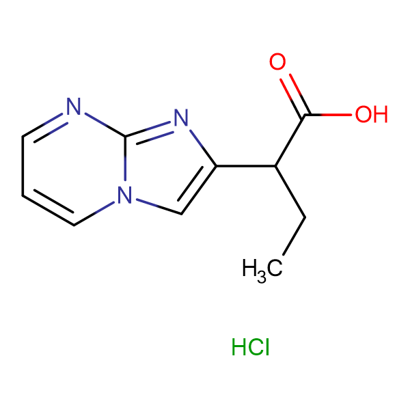 2-imidazo[1,2-a]pyrimidin-2-ylbutanoic acid hydrochloride