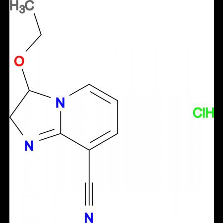 3-ethoxy-2,3-dihydroimidazo[1,2-a]pyridine-8-carbonitrile hydrochloride