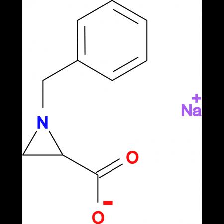 sodium 1-benzylaziridine-2-carboxylate