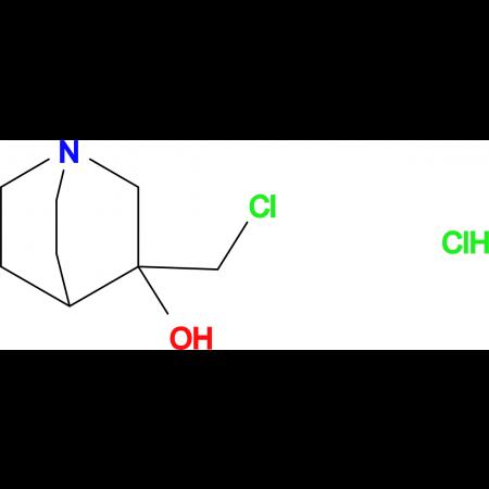 3-(chloromethyl)quinuclidin-3-ol hydrochloride
