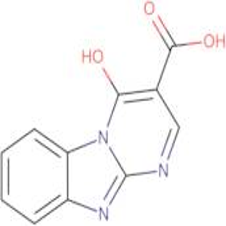 4-hydroxypyrimido[1,2-a]benzimidazole-3-carboxylic acid