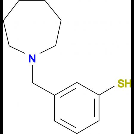 3-[(1-Homopiperidino)methyl]thiophenol