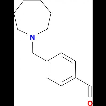 4-[(1-Homopiperidino)methyl]benzaldehyde