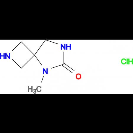 5-methyl-2,5,7-triazaspiro[3.4]octan-6-one hydrochloride