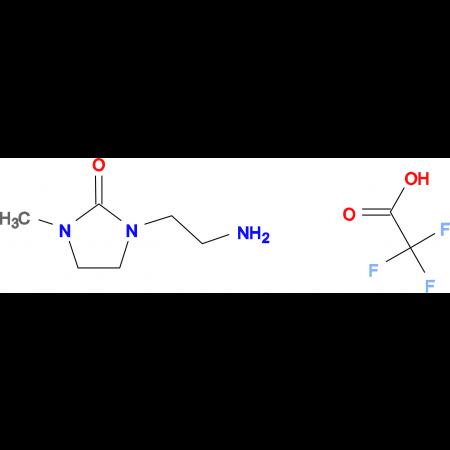 1-(2-aminoethyl)-3-methyl-2-imidazolidinone trifluoroacetate