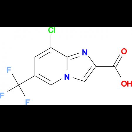 8-Chloro-6-(trifluoromethyl)imidazo[1,2-a]pyridine-2-carboxylic acid
