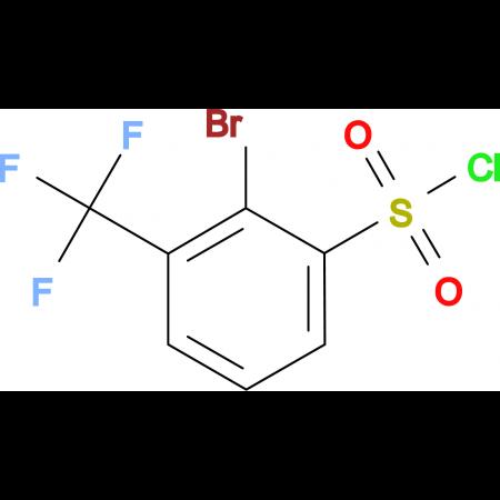 2-Bromo-3-(trifluoromethyl)benzenesulfonyl chloride