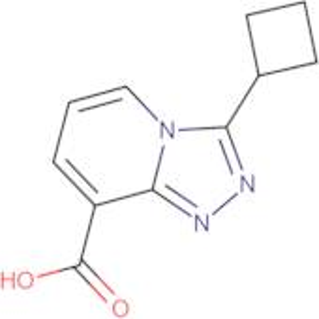 3-Cyclobutyl-[1,2,4]triazolo[4,3-a]pyridine-8-carboxylic acid