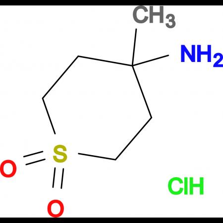 4-Amino-4-methyl-1Lambda(6)-thiane-1,1-dione hydrochloride