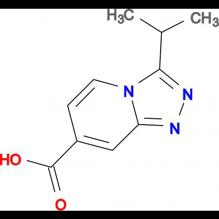 3-Isopropyl-[1,2,4]triazolo[4,3-a]pyridine-7-carboxylic acid